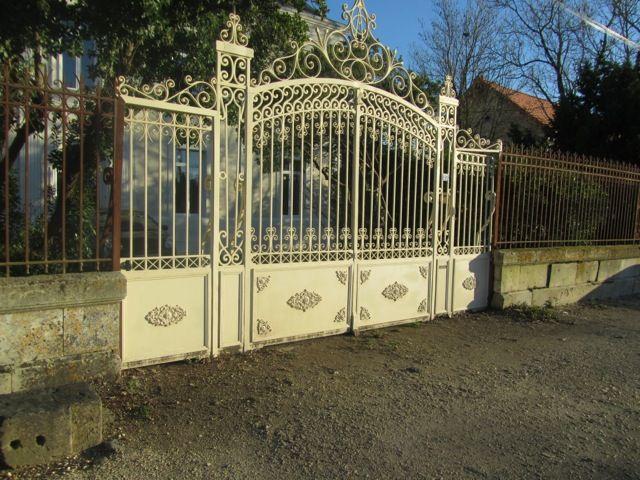Restauration grand portail d'époque