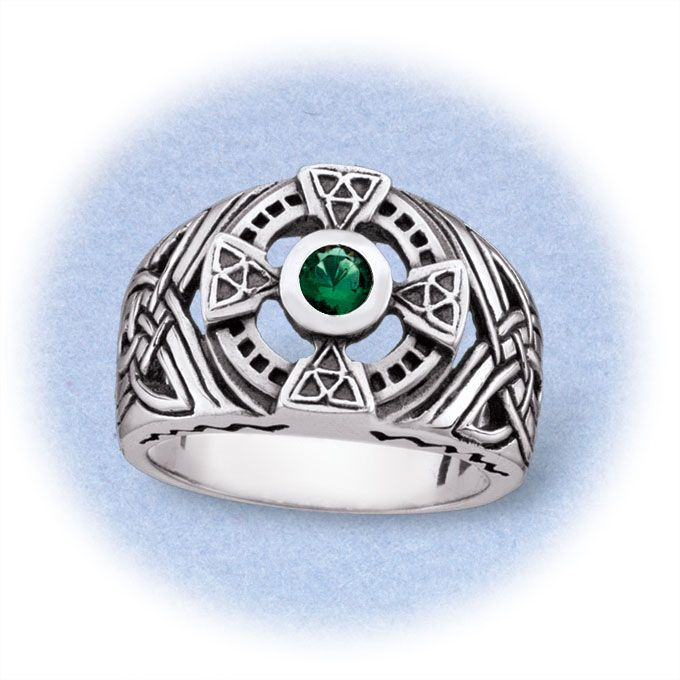 Men's sterling silver Celtic ring. An expression of Irish ...