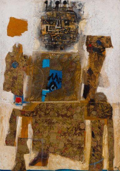 Antoni Clavé: Roi à cheval, 1957
