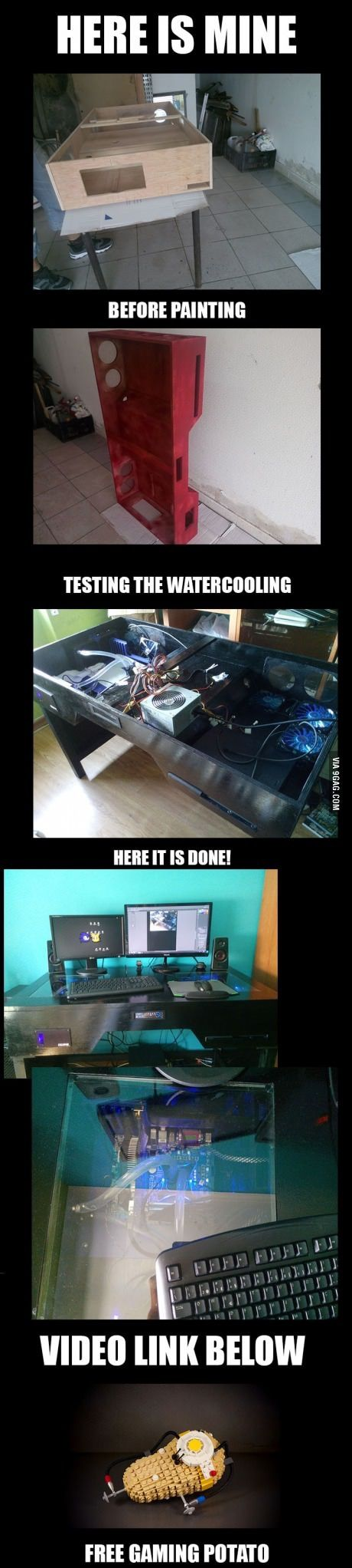 Checkout this awesome #customPC build! Worth considering for my next work/play #PC :) #gadgets #tech #gamersdream
