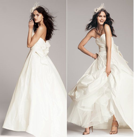 Can't help but love the big dress, when else can you wear it? Nordstrom.com – NOUVELLE Amsale Bow-Knot Wedding Gown #Nordstromweddings