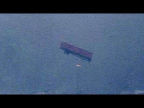 Dallas Tornado Video Shows Massive Twisters in Texas, Tractor Trailers Thrown Around Like Toys - YouTube