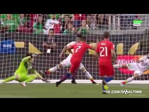Chile vs Mexico 7-0 Highlights Extended Chile 7 - 0 Mexico Copa America ...