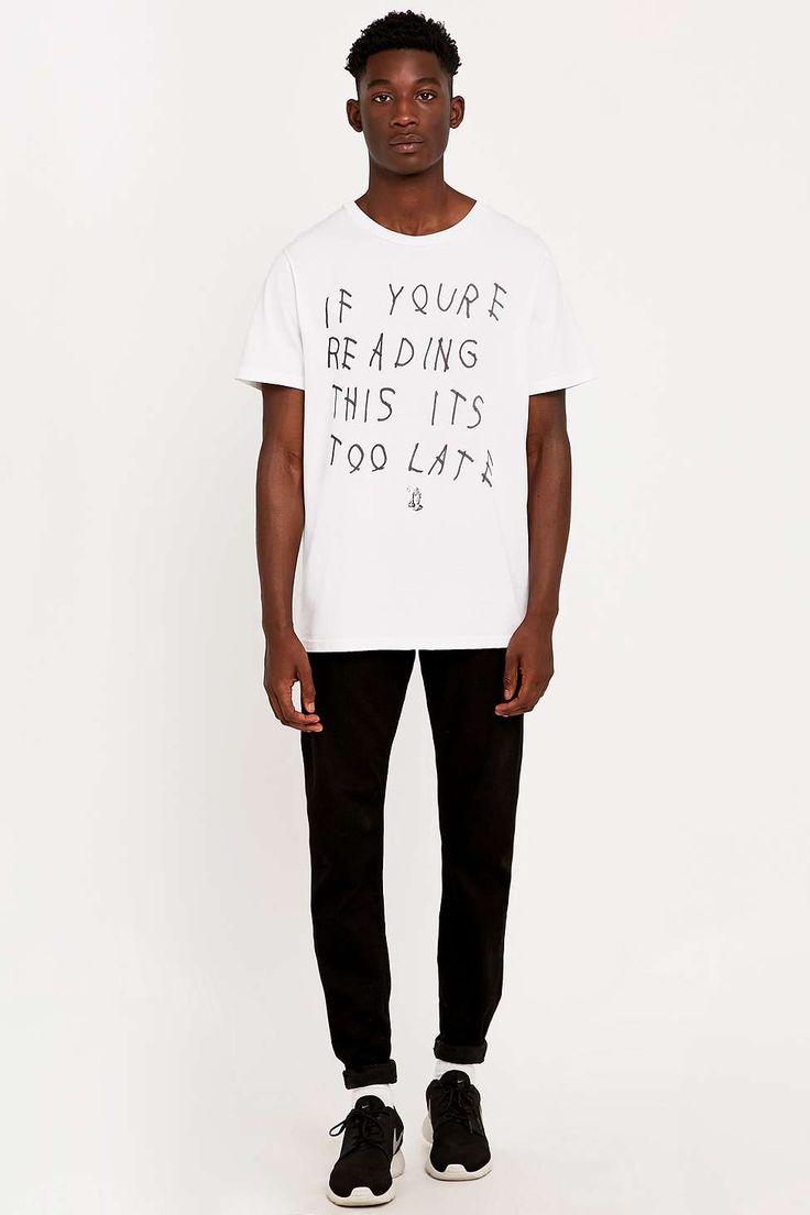 Urban Outfitters T-shirt Drake Praying Hands Tee