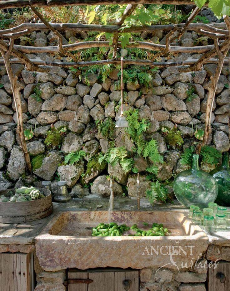 I Like The Idea A Lot More Than The Outcome, Still, Itu0027s Really Pretty  Stone  Sink Cote Sud Magazine