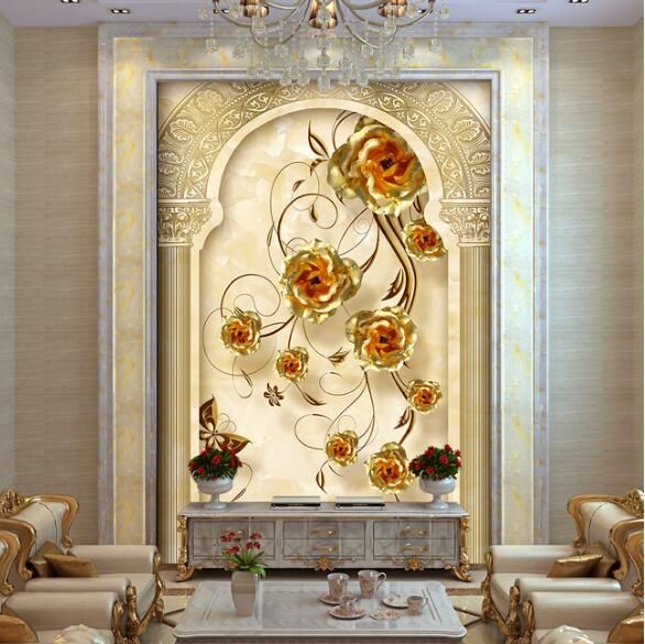 papel para paredes photo wallpaper murals wallpaper modern designs for walls tapety 3d flowers oil paintings