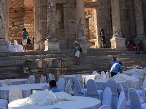 Efes'te onay verilen faaliyetler yapılıyormuş