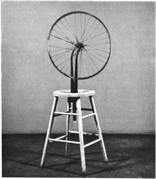 Bicycle Wheel (1913)    :happy bday Marcel Duchamp