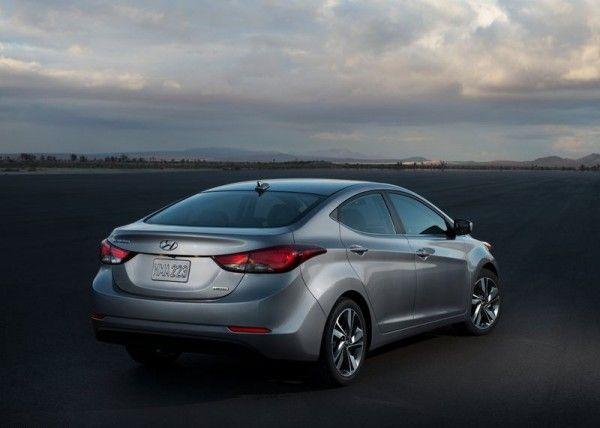 2014 Hyundai Elantra Sedan Silver Color 600x428 2014 Hyundai Elantra Sedan Reviews and Design