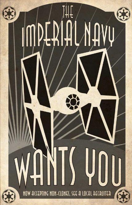 imperial navy #starwars #poster #propaganda