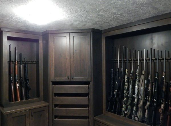 126 best awesome gun rooms images on pinterest for Home gun room