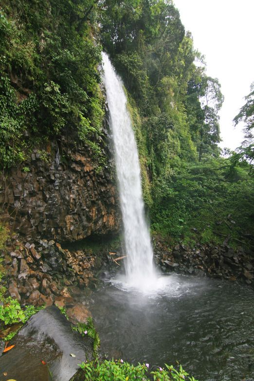 Anai Valley waterfall - On your way to Bukittinggi from Padang, you will not fail to be stunned by the majestic Anai val...