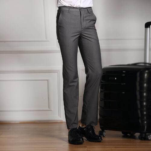 Formal Men Suit Pants – Slim Smart Casual Straight Dress Trousers hailan / L