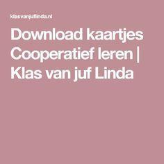 Download kaartjes Cooperatief leren | Klas van juf Linda