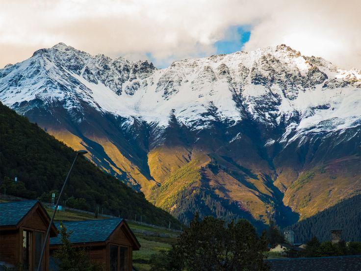 Mestia, Swanetia, Kaukaz