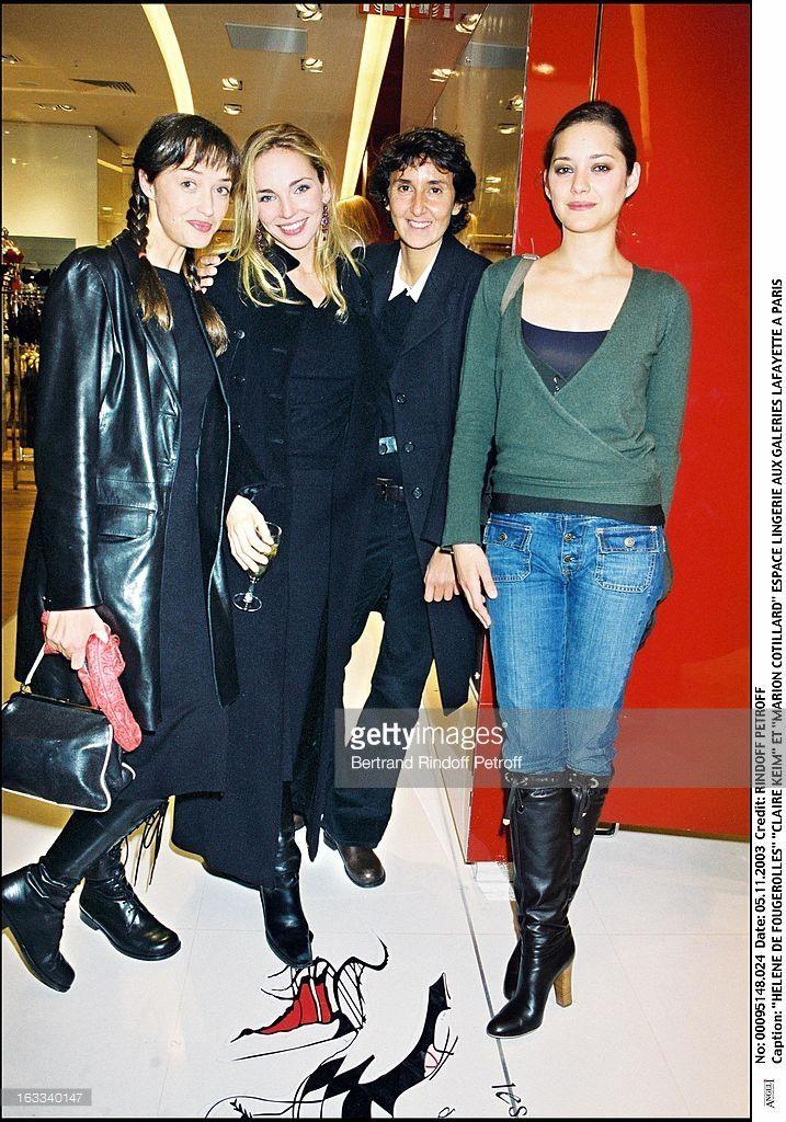 Photo d'actualité : Helene De Fougerolles 'Claire Keim' and 'Marion...