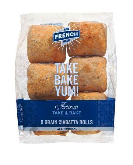 Kemasan Roti Biskuit dan Kue - Artisan Bread Packaging   Contoh Desain