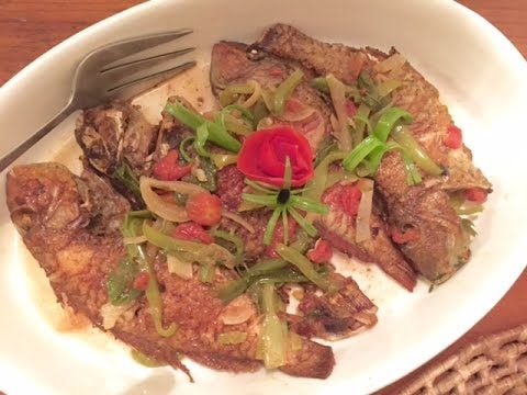 When we were in Jamaica we couldn't get enough of delicately flavoured Parrot fish so we were very happy to make and eat Mary's Brown Stew Fish.