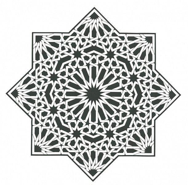 Pattern in Islamic Art - C-D 003