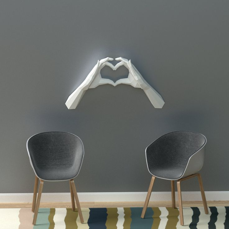 Energetic DIY Paper Sculptures Designed to Leap from Your Walls Looking for an unconventional way to decorate your home? Have some fun with DIY when you build your own geometric wall sculptures....