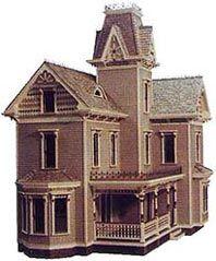Plans de maisons miniatures - La Maison Victorienne