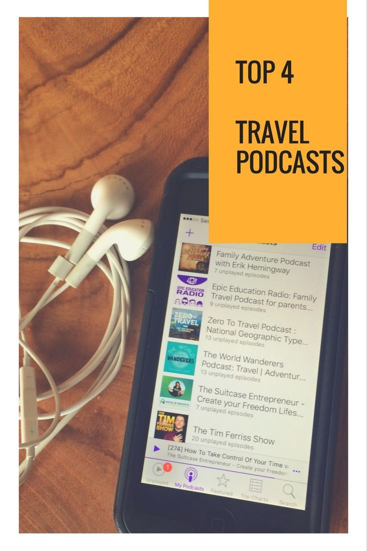Top 4 Travel Podcasts!