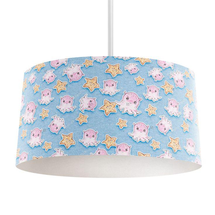 Lampenkap Zeesterretjes | Bestel lampenkappen voorzien van digitale print op hoogwaardige kunststof vandaag nog bij YouPri. Verkrijgbaar in verschillende maten en geschikt voor diverse ruimtes. Te bestellen met een eigen afbeelding of een print uit onze collectie. #lampenkap #lampenkappen #lamp #interieur #interieurdesign #woonruimte #slaapkamer #maken #pimpen #diy #modern #bekleden #design #foto #baby #babykamer #lief #zeester #octopos #onderwater #oceaan #schattig #kinderkamer #kind…