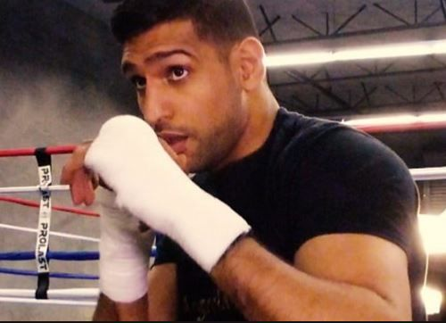 Amir Khan: Boxer to launch mixed martial arts league in Britain in 2017