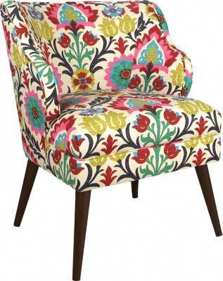 Hannah Floral Accent Chair 44999 25w X 265d X 325h Find