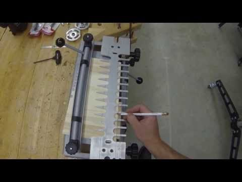 Through Dovetail Joinery- PorterCable Jig, Festool Router