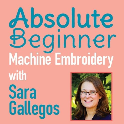 Host Sara Gallegos brings you the new video series for machine embroidery for beginners. 24 episode series takes you through it all from how to set up your machine, stabilizers, threads and so much more. Only 24.99 for the entire series.