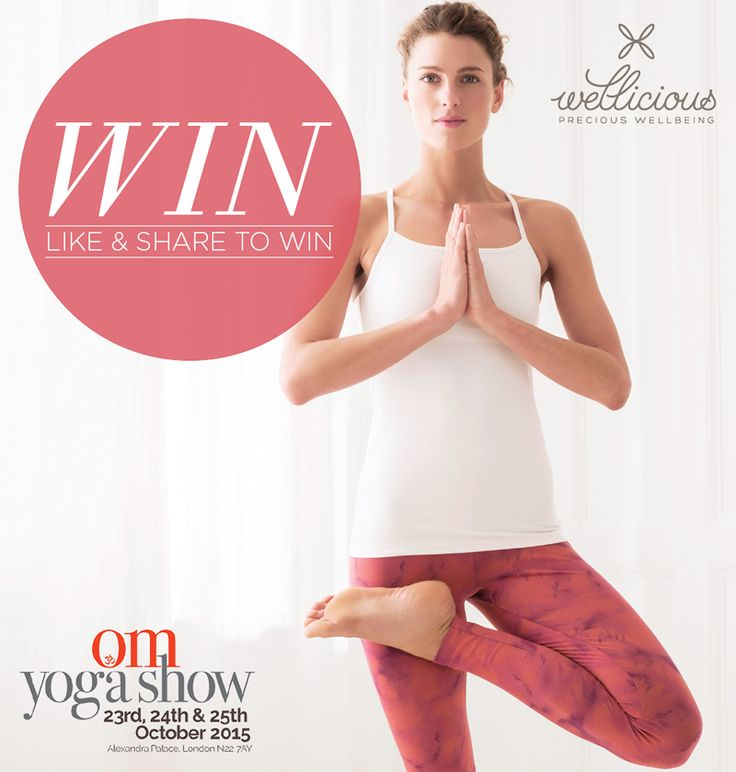 WIN! Who wants free tickets to this year's bigger and better OM Yoga Show in London's Alexandra Palace on the 23-25th October? We have 5 pairs of complimentary tickets worth £44, to give away, and all you have to do is like & share this post to be in with a chance to win for the perfect yogic weekend! ❤ #Competition #BeWellicious #Win #London #Event