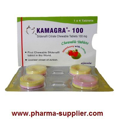 Kamagra Polo (Sildenafil Citrate Chewable 100mg Tablets)