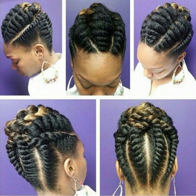 Protective Styles For Natural Hair Pinterest