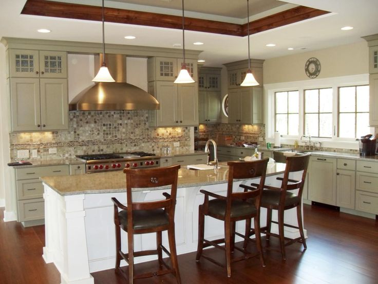 17 best ideas about pictures of kitchens on pinterest for Best material for kitchen cabinets