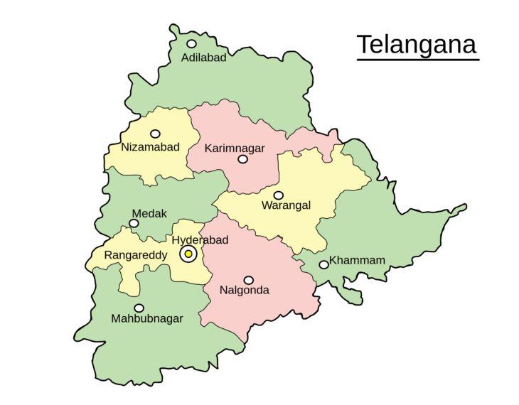 TELANGANA DISTRICTS