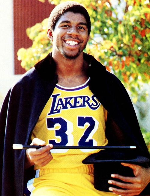 magic johnson... only player I've ever liked on the Lakers
