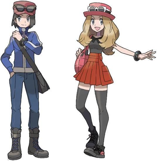 Pokemon And Y Cartoon Characters : Best images about pokemon trainers on pinterest