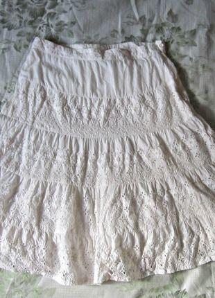 Kupuj mé předměty na #vinted http://www.vinted.cz/damske-obleceni/midi-sukne/13036026-letni-bila-krajkova-sukne-camaieu