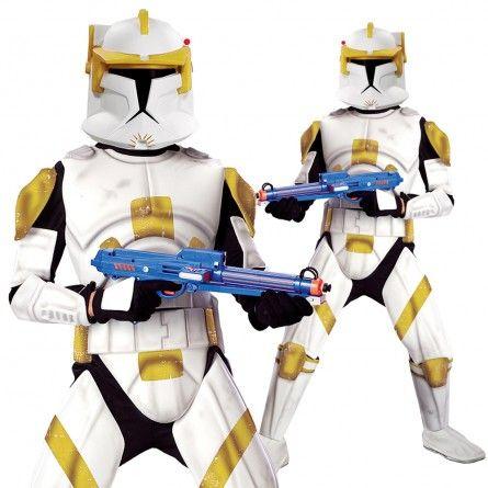 Mens Cody Clone Trooper Costume