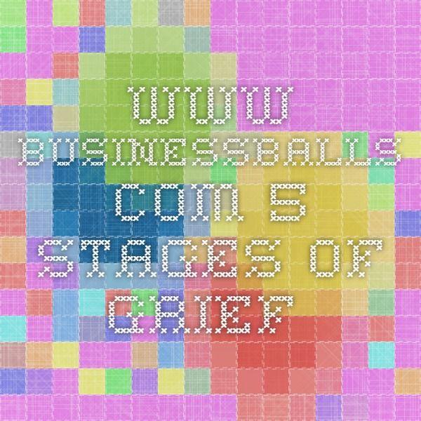 www.businessballs.com 5 stages of grief