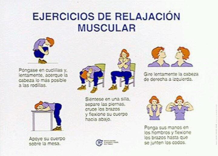 Ejercicios de relajación muscular