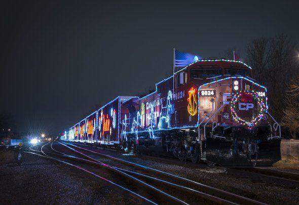 Holiday Train In Hamilton 2016....can't wait
