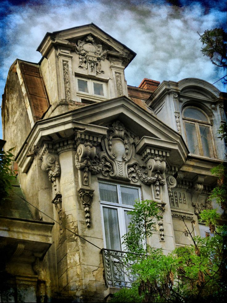 **Living in Bucharest**  House on Queen Elisabeth Boulevard, Bucharest, Romania