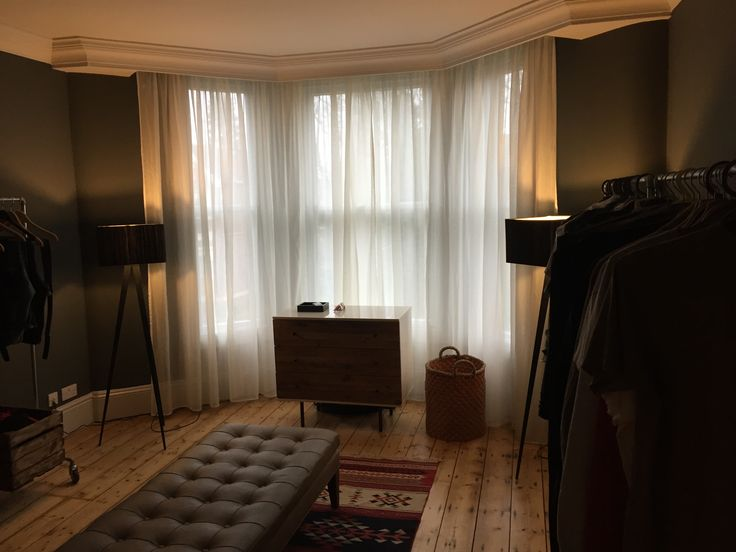 Open plan dressing room
