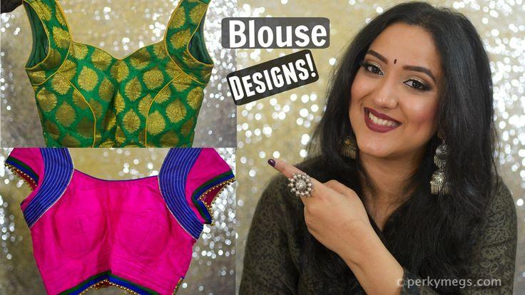 Latest Saree Blouse designs Indian ethnic wear
