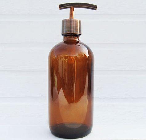 Dispensador de jabón de cocina   Dispensador de champú   Decoración de cuarto de baño del país   Dispensador de loción   Accesorios de baño de OneBurchWay en Etsy https://www.etsy.com/es/listing/186320884/dispensador-de-jabon-de-cocina-o