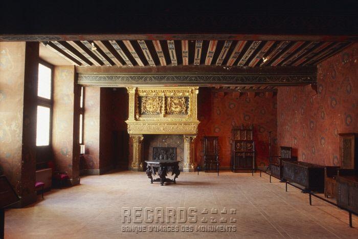 3 Le Chateau De Blois Salle Du Roi Aile Francois 1 Salle Aux