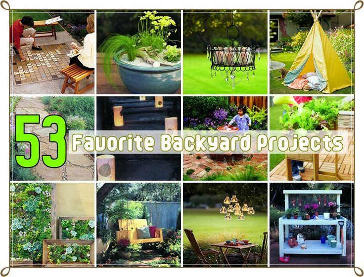 53 Favorite Backyard DIY Projects