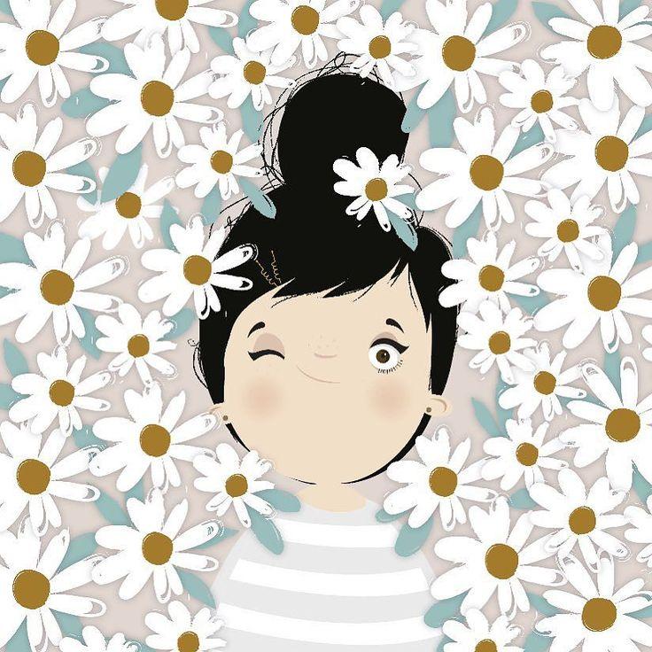 { hellooooow! Bonjourrrrr!!! - #camouflage #daisies ## #happyday by iamlubi